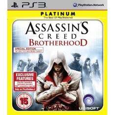 Assassin's Creed: Brotherhood  (PS3) - £12.99 Delivered @ Amazon