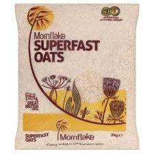 Mornflake Superfast Oats (2Kg) £2.09 each or 3 for the price of 2 (3 for £4.18) @ Tesco