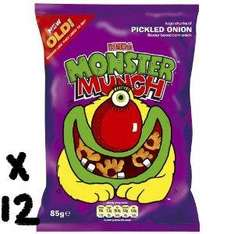 Monster Munch BIG 85g packs x12 JUST £8.99 delivered from Amazon