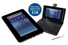 "Storage Options 7"" touch screen tablet PC £94.98 @  EBUYER free 5 day delivery this deal includes a free accessory bundle"