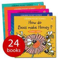 Pocket Science Collection - 24 Books (Paperback) - £9.99 at The Book People