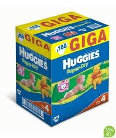 Huggies® Superdry Gigapack Nappies Box Size 3, 4 & 5  £15.99 @ Mothercare