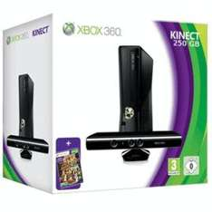 Xbox 360 250GB With Kinect & Kinect Adventures 219.99 @ GameStation
