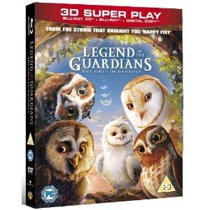 Legend of the Guardians: The Owls of Ga'Hoole Blu-Ray 3D @HMV - £12.99