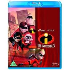 The Incredibles Blu-Ray only £12 @ Amazon or Tesco