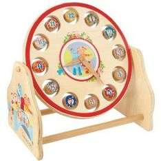 In The Night Garden Day And Night Rotating Clock £7.98 @ Mail Order Express