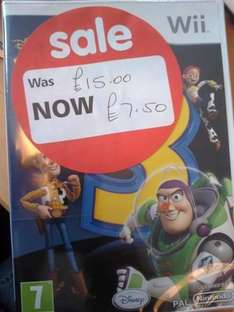 Wii Toy Story 3 @ Asda Instore £7.50