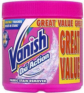 Vanish Oxi Action Stain Remover 750g - 75p @ Sainsburys