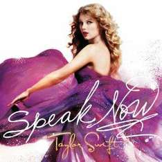 Taylor Swift - Speak now audio CD for £3.03 with free super save delivery from amazon