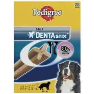 Pedigree Dentastix for Large Dogs 28 sticks 1080 g (Pack of 4) £8.97 Amazon