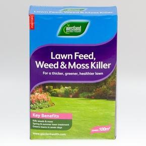 Westland Lawn Feed weed moss Killer (100sqm) £3.99 @ B&M Bargains