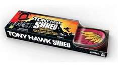 Tony Hawk Shred - Game and Board - £19.99 instore in HMV - Wii, Xbox 360 and PS3