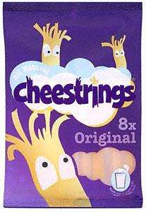 Cheestrings 8 pack £1.38 at Co-op / Somerfield