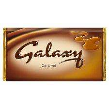 Galaxy Caramel 135g 3 for only £1 @ Heron