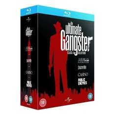 The Ultimate Gangster Collection (4 Discs) (Blu-ray) American Gangster / Carlito's Way / Casino / Public Enemies - £15.85 Delivered @ Zavvi + Quidco