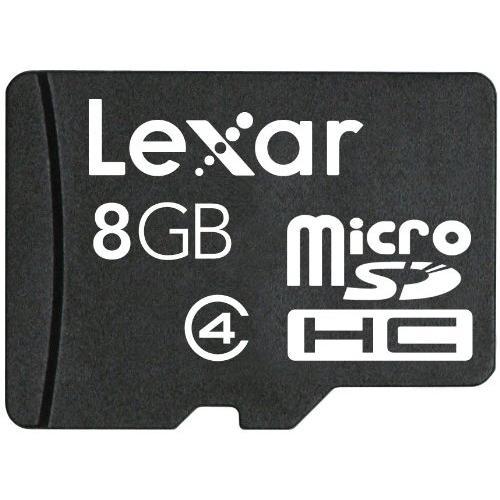 Lexar 8GB Micro SD SDHC Memory Card - Class 4 - £6.99 @ Play