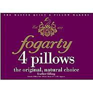 Pack of four white feather pillows were £50 now £15 @ Debenhams