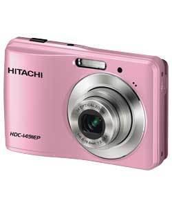 Only £29.99. HITACHI HDC1491 14MP PINK DIGITAL CAMERA. Refurb with a 12 MONTH  ARGOS WARRANTY @ ARGOS ebay shop.