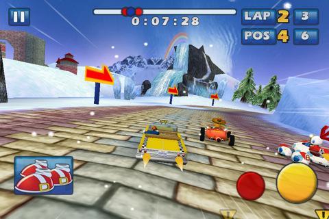 Sonic & SEGA All-Stars Racing is $1.99USD /£1.19 GBP @ itunes