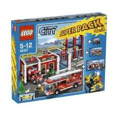 LEGO City 66357: Fire Station Super Pack 4 in 1 £62 00 @ Amazon (RRP £79.99)