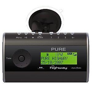 Pure Highway DAB Digital Radio with FM Transmitter  £39.95 *instore* @ John Lewis