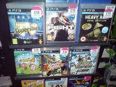 TV SuperStars, Kung Fu Rider, Time Crisis: RS, Heavy Rain, Start The Party (PS3) - £10 Each @ HMV (Instore)