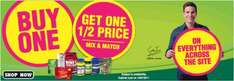 Buy One Get One Half Price on everything @ Holland & Barrett mix and match + 10% Quidco/Topcashback