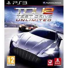 Test Drive 2 Unlimited PS3 £10 @ Asda Instore/ Trade back to Asda for £16!