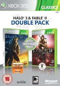 Fable II and Halo 3 double pack  £13.99 @ Game