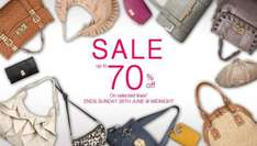 Fiorelli 70% off sale bags from as little as £12