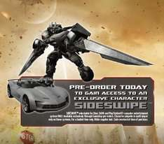 Transformers DOTM Sideswipe Edition  released 24th June at Gamestaion and Game