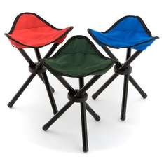 Outdoor Solutions Camping Stool - £1  @ Poundland
