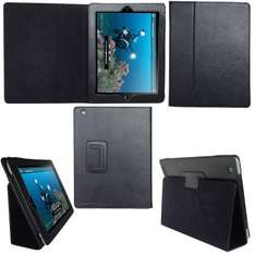 TeckNet iPad 2 Folio Leather Case Cover and Flip Stand For Apple iPad 2, With Magnetic Sleep Wake Sensor Feature - Black - £9.99 Delivered @ Amazon