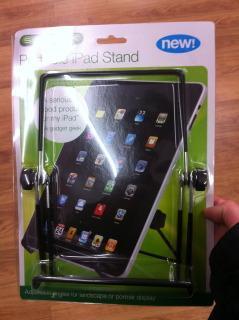 singalex stand for ipad / ipad 2 £1 @ Poundland