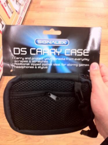 Case for DS console @ Poundland