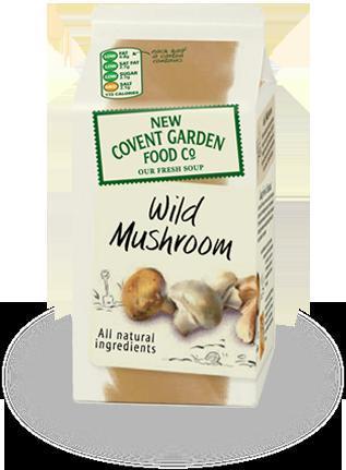 New Covent Garden Wild Mushroom Soup 75p @ Tesco