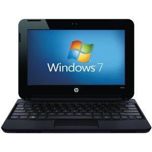 "Amazon UK - £199.00p - HP Mini 110-3610 Netbook (Black, Intel Atom N550 Dual-Core CPU, 10"" Screen, 1 GB RAM, 250 GB HDD, Windows 7 Starter, Six Cell Battery)"