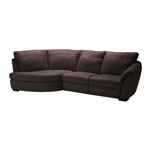 Leather Sofa Price: ALVROS Leather Sofa WAS £1149 NOW £899 IKEA Family Member