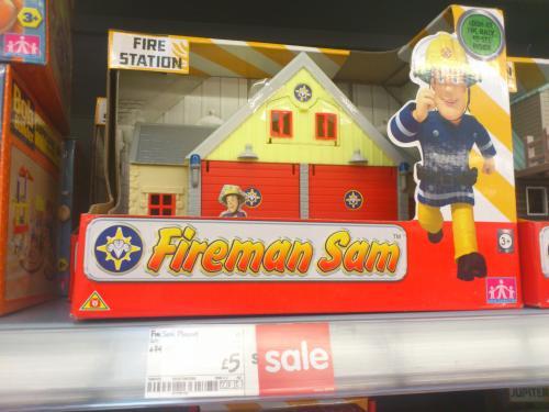 Fireman sam freebies