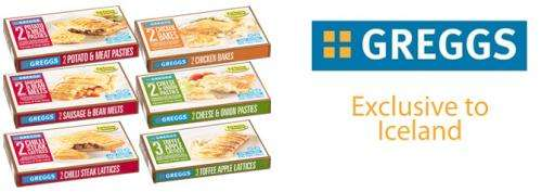 Gregg's favourites Frozen @ Iceland from £1.50 - HotUKDeals