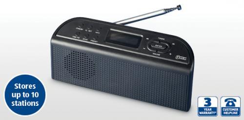 dab fm radio aldi with 3 year warranty. Black Bedroom Furniture Sets. Home Design Ideas