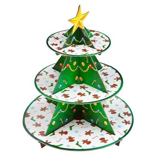 Christmas Tree Cupcake Stand 163 1 Poundland Hotukdeals