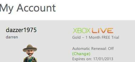 how to get xbox live gold free trial