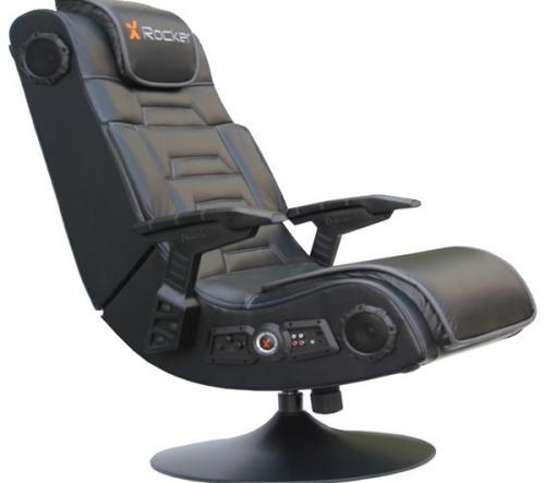 X Rocker Pro 4 1 Surround Sound Pedestal Gaming Chair 163 99
