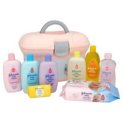 Johnson's Baby skincare essentials box (Lilac) Was £10.00 now £5.00 at ASDA (Instore Only) - HotUKDeals
