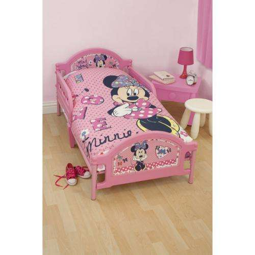 Toddler Bed Offers: Mickey Or Minne Mouse Toddler Beds £47.99 Delivered