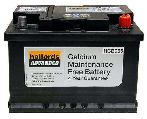 Halfords Calcium Battery HCB065 2000 HotUKDeals - Relay Switch Halfords