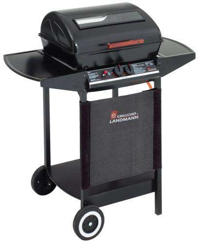 Landmann grill chef 12375 ft 2 burner gas barbecue with for Landmann outdoor kuche
