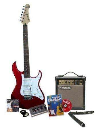 red yamaha pacifica 012 electric guitar starter pack amazon hotukdeals. Black Bedroom Furniture Sets. Home Design Ideas