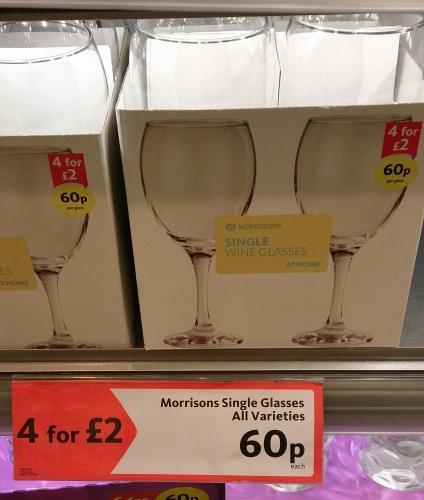 Wine deals at morrisons